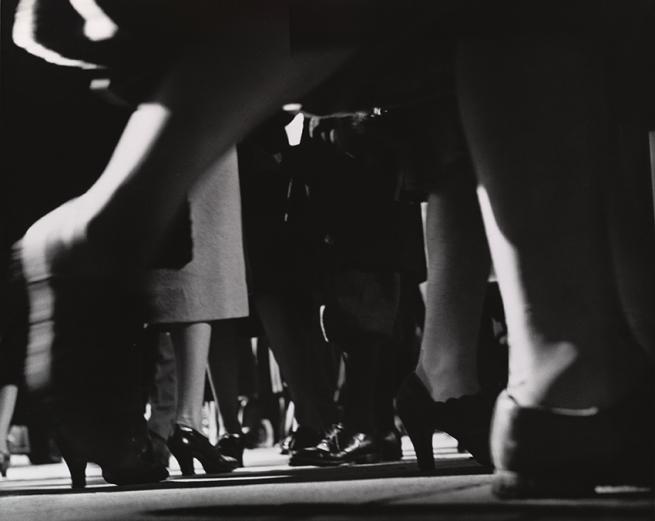 Lisette Model (American, born Austria. 1901-1983) 'Times Square' 1940