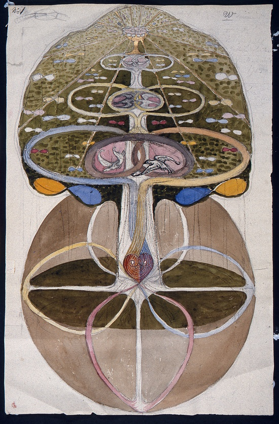 Hilma af Klint. 'Tree of Knowledge' 1913