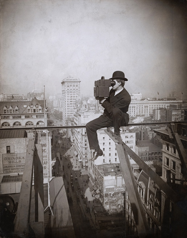 Underwood and Underwood (American, active 1880-1934) 'Above Fifth Avenue, Looking North' 1905