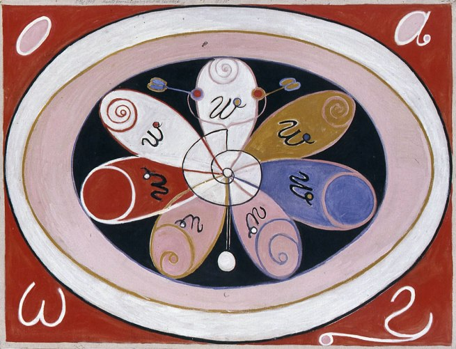Hilma af Klint. 'Untitled' Nd