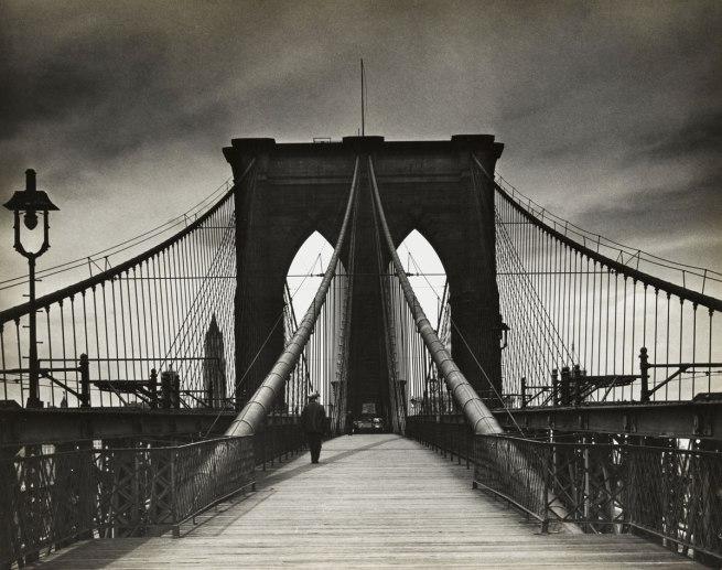 Alexander Alland (1902-1989, born Sevastopol, Ukraine) 'Untitled (Brooklyn Bridge)' 1938