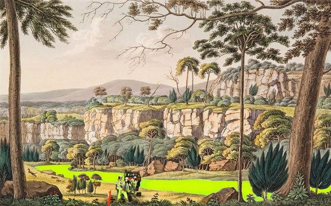Joan Ross. 'I dig your land' 2013