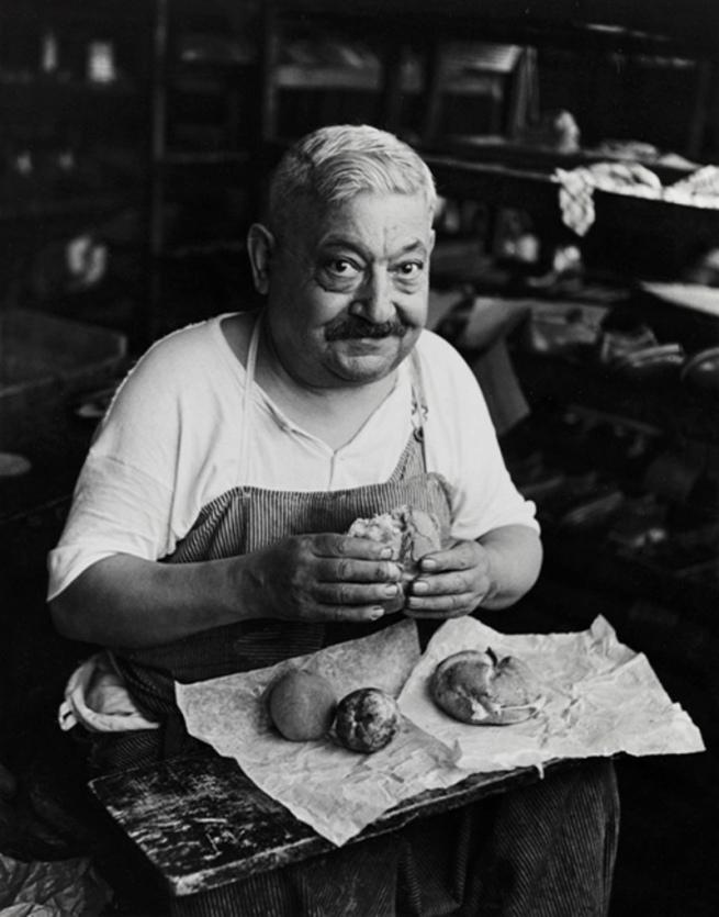 Bernard Cole (1911-1992, born London, England) 'Shoemaker's Lunch' 1944