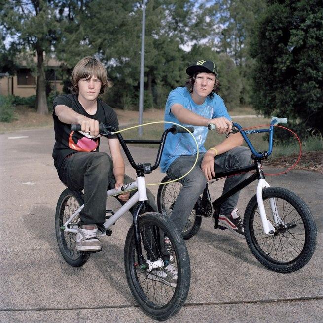 Lee Grant(Australian, b. 1973) 'Nathan & Mac, BMX bros' 2009