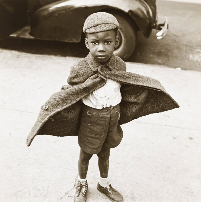 Jerome Liebling (United States, 1924-2011) 'Butterfly Boy, New York' 1949