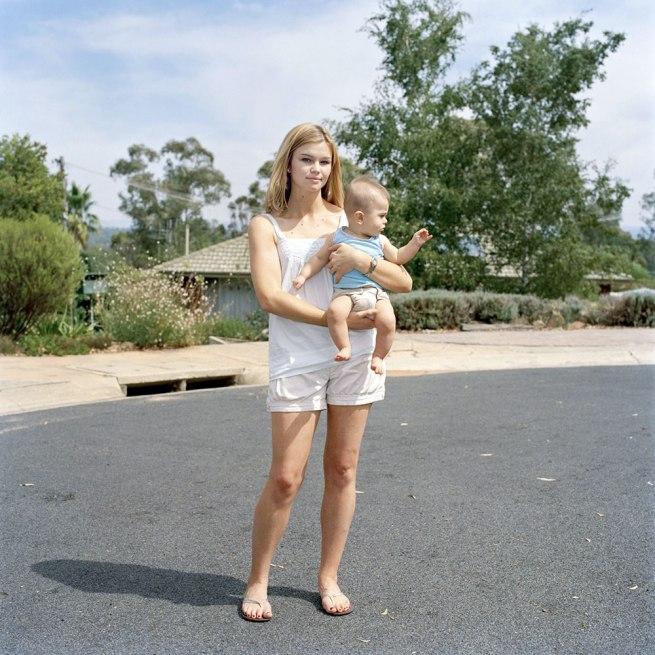 Lee Grant(Australian, b. 1973) 'Alisha and baby Saul' 2009
