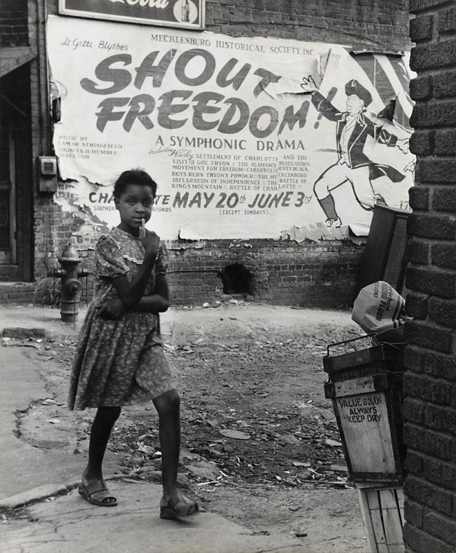 Rosalie Gwathmey. 'Shout Freedom, Charlotte, North Carolina' c. 1948