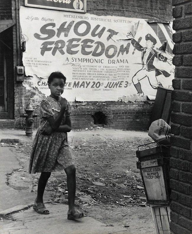 Rosalie Gwathmey. 'Shout Freedom, Charlotte, North Carolina' c. 1948