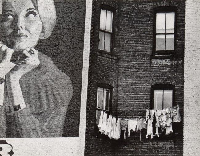 Erika Stone (born 1924, Frankfurt, Germany) 'Lower Eastside Facade' 1947