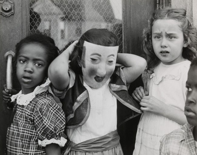 Marvin E. Newman. 'Halloween, South Side' 1951