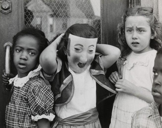 Marvin E. Newman (born 1927, Manhattan, New York) 'Halloween, South Side' 1951