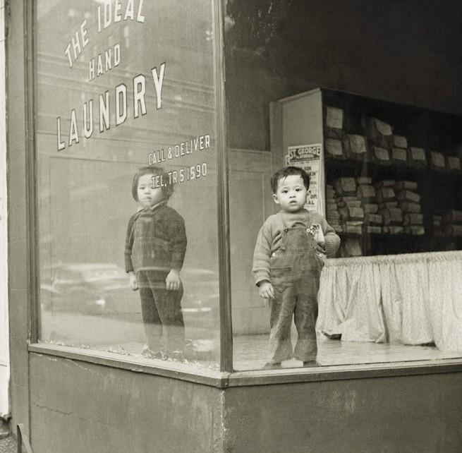 Arthur Leipzig (born 1918, Brooklyn, New York) 'Ideal Laundry' 1946