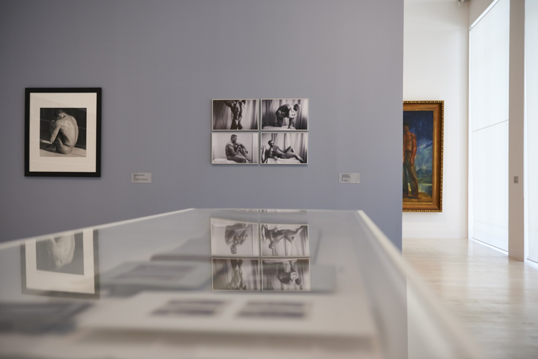 'The Naked Man', exhibition views