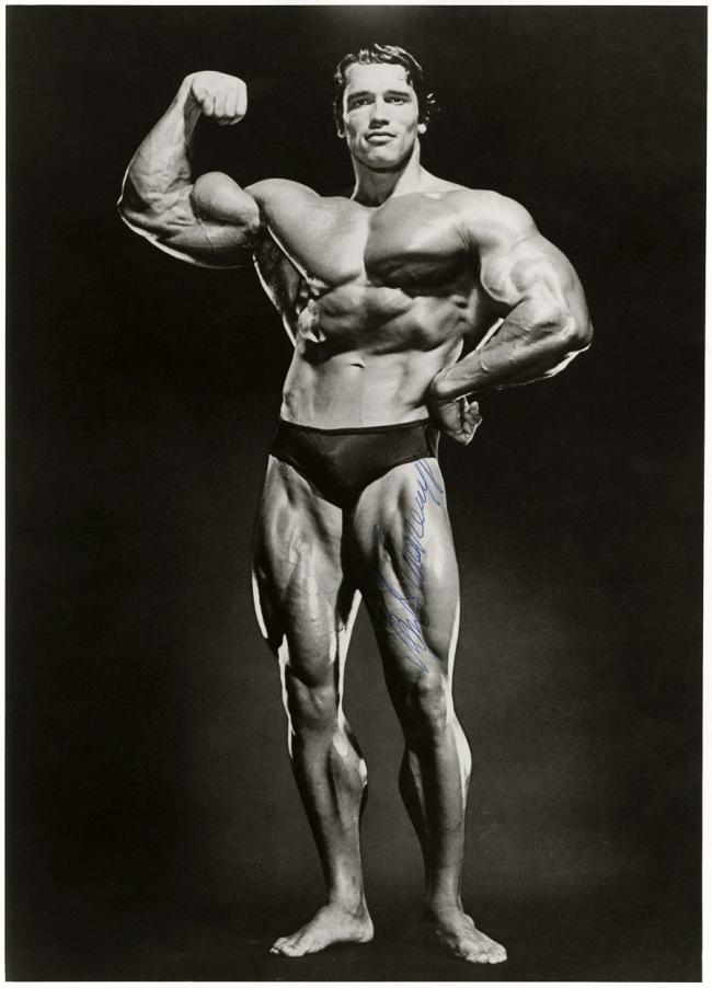 Jimmy Caruso. 'Arnold Schwarzenegger' 1978