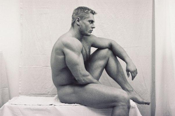 Károly Halász. 'Body-builder in Renaissance manner' 2000