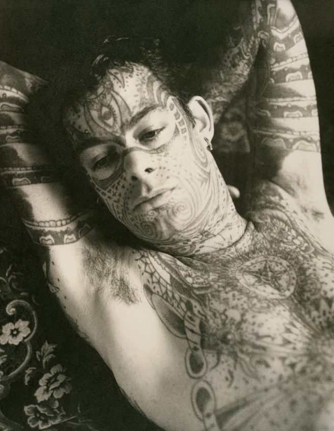 McDermott & McGough. 'Tattoo Man in Repose' 1891/1991