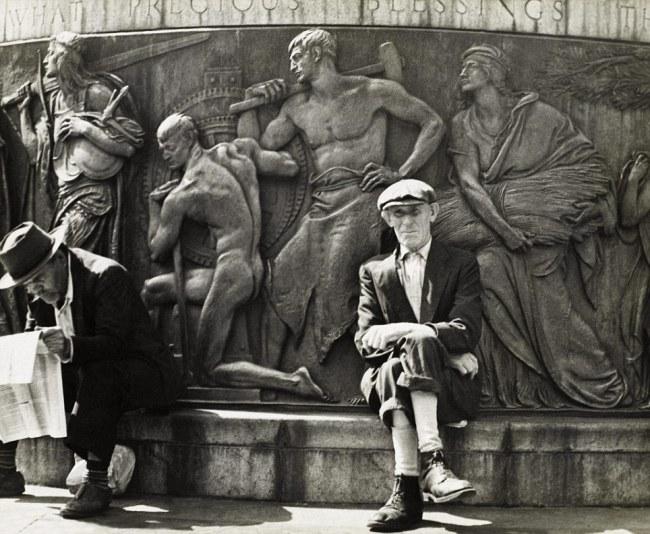Morris Huberland. 'Union Square, New York' c. 1942