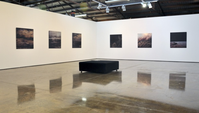 Installation view of 'Troy Ruffels: Cinder' at James Makin Gallery