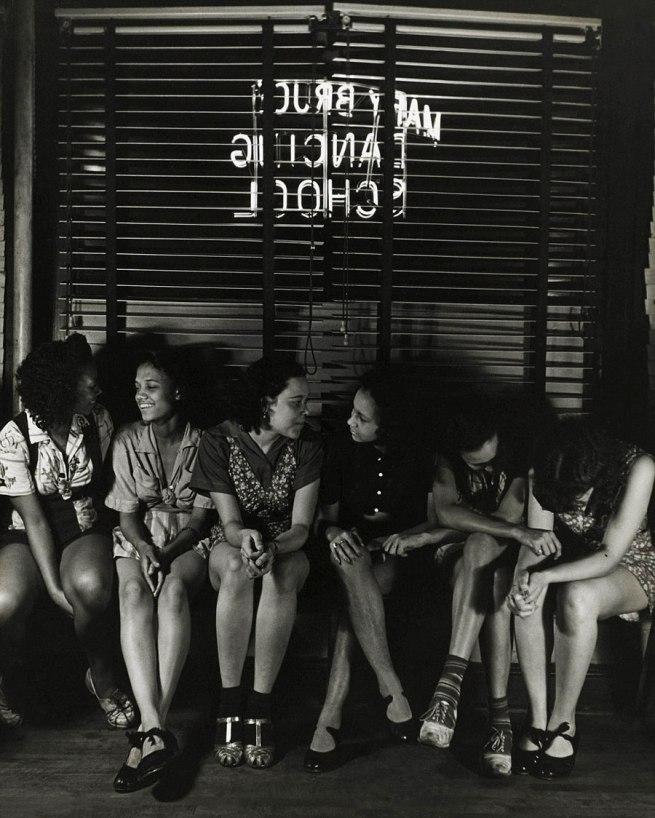 Sol Prom (Solomon Fabricant) (1906-1989, born Brooklyn, New York) 'Untitled (Dancing School)' 1938