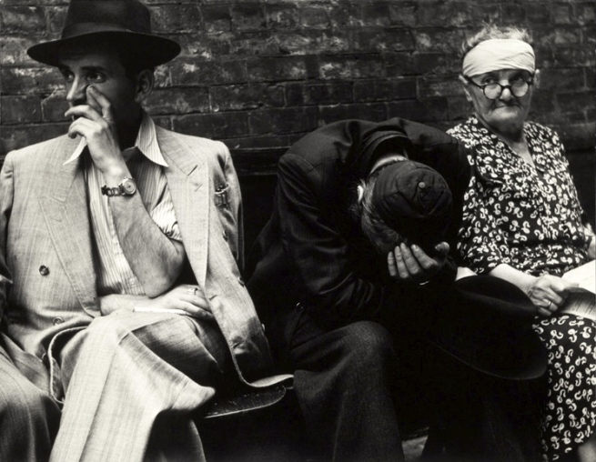 Sonia Handelman Meyer (born 1920, Lakewood, New Jersey) 'Hebrew Immigration Aid Society' c. 1946