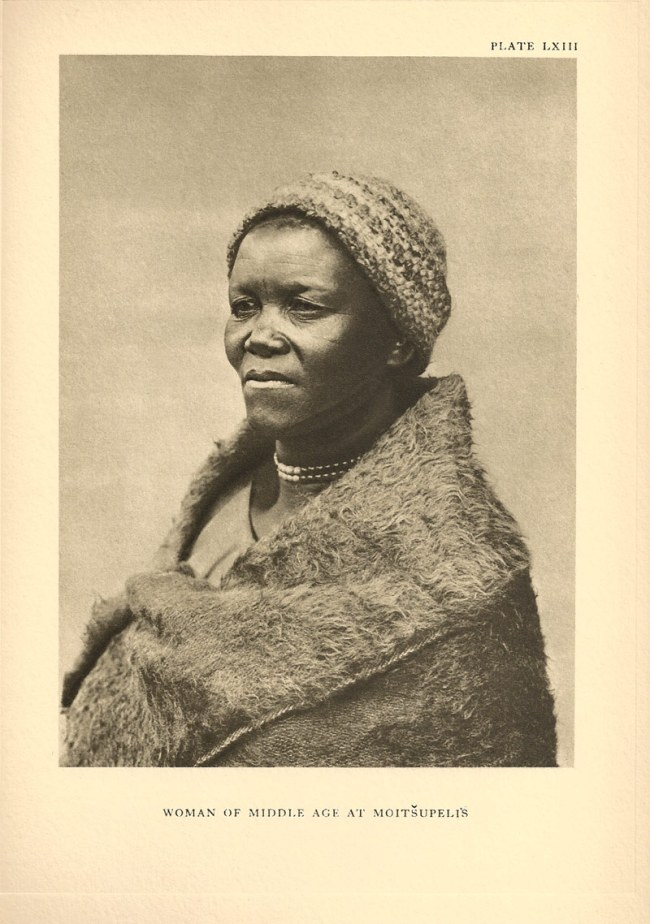 A.M. Duggan-Cronin. 'Woman of Middle Age at Moitšupeli's' South Africa, early twentieth century