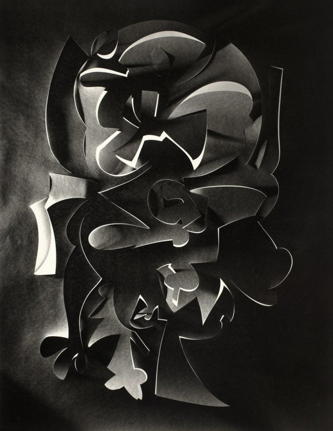 Frederick Sommer. 'Cut Paper' 1980