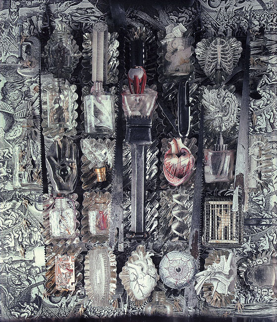 Fiona Hall. 'Envy, Seven Deadly Sins' 1985