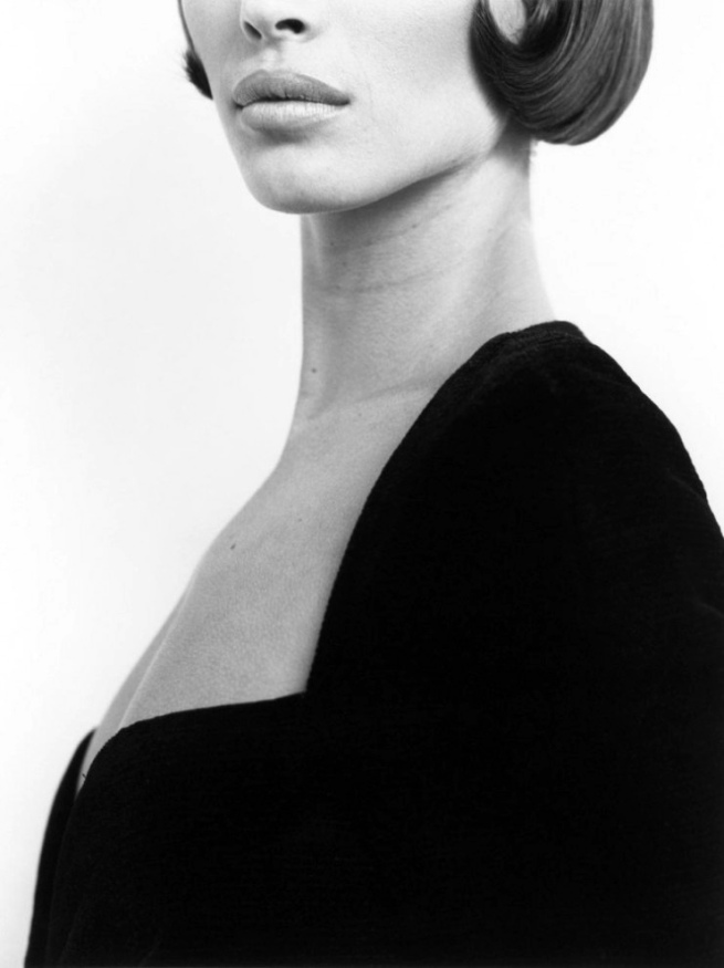 Herb Ritts (American, 1952-2002) 'Chrissy Turlington, Versace 3, Milan' 1991