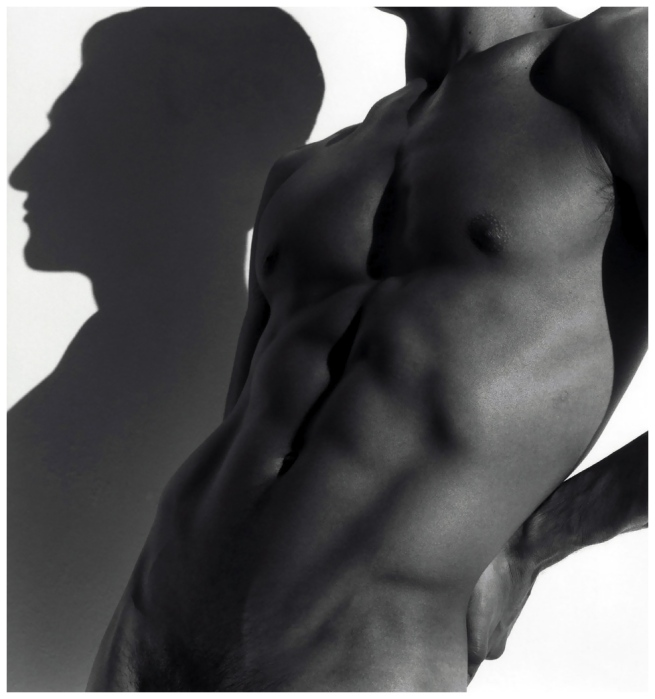 Herb Ritts (American, 1952-2002) 'Tony with shadow, Los Angeles' 1988