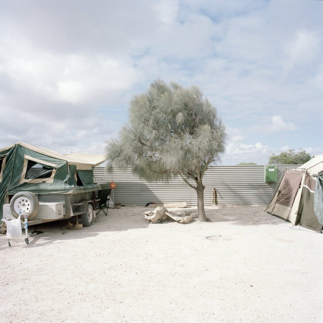 Katrin Koenning. 'Camp Detail #1, Fowlers Bay' 2013