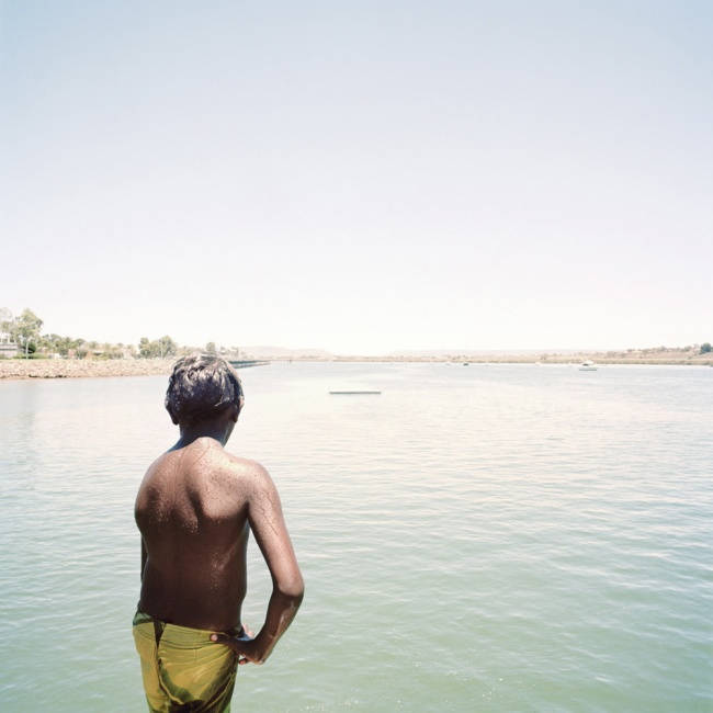 Katrin Koenning. 'Boy #2, Port Augusta Jetty' 2013