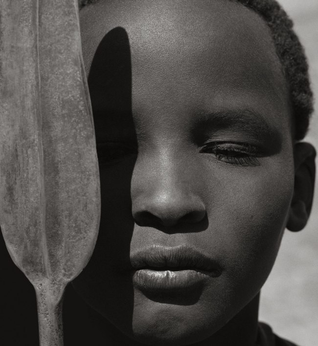 Herb Ritts (American, 1952-2002) 'Loriki with Spear, Africa' 1993