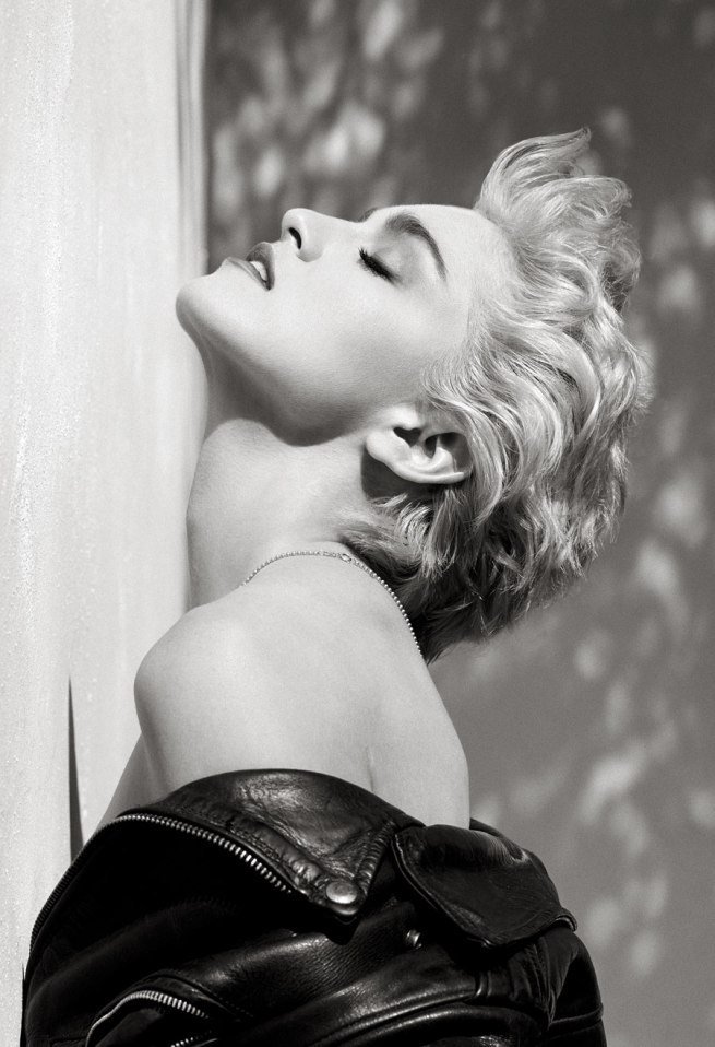 Herb Ritts (American, 1952-2002) 'Madonna (True Blue Profile), Hollywood' 1986