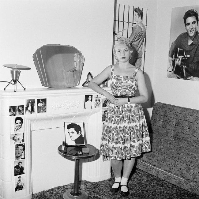 Polixeni Papapetrou(Australian, 1960-2018) 'Suzie, Elvis fan at home, Melbourne' 1989