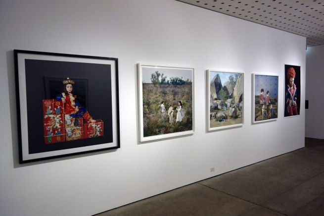 Installation views of Polixeni Papapetrou 'A Performative Paradox' at the Centre for Contemporary Photography (CCP)