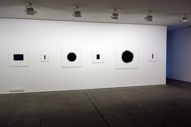 Installation views of Daniel von Sturmer 