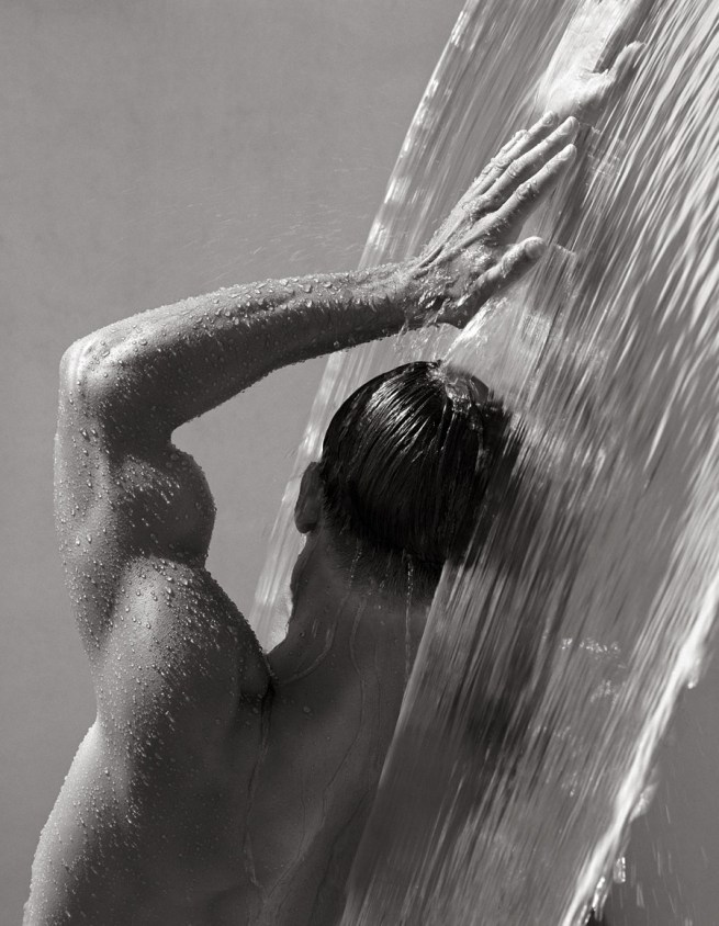 Herb Ritts (American, 1952-2002) 'Waterfall IV, Hollywood' 1988
