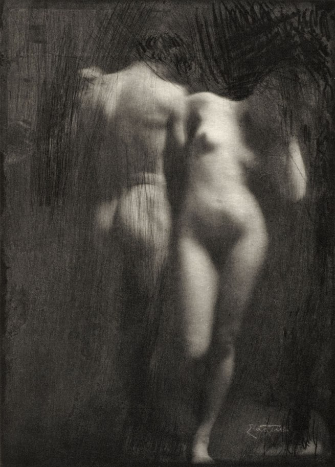 Frank Eugene Smith. 'Adam and Eve' 1898/99