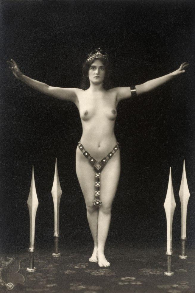 Otto Skowranek. 'Olga Desmond - Sword Dance' 1908