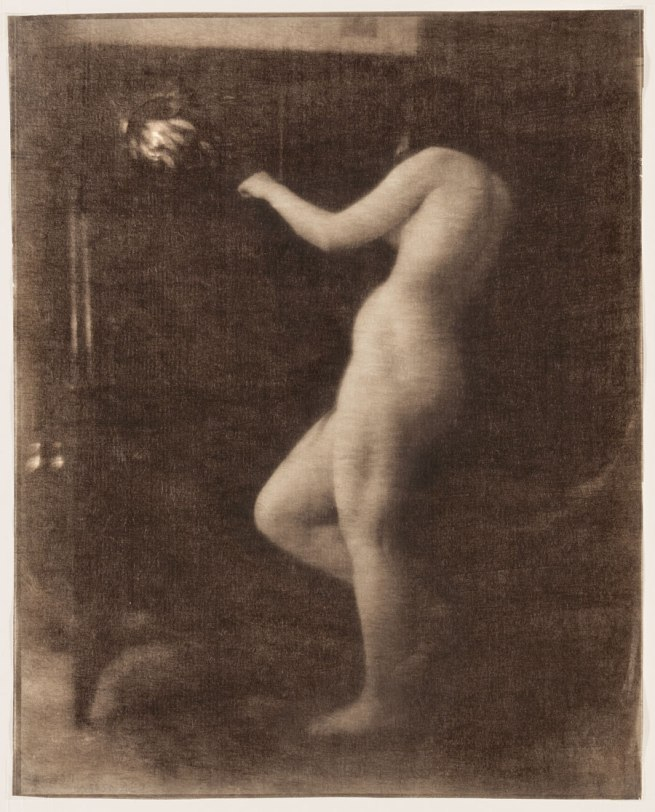 Heinrich Kühn. 'Female Nude' c. 1906