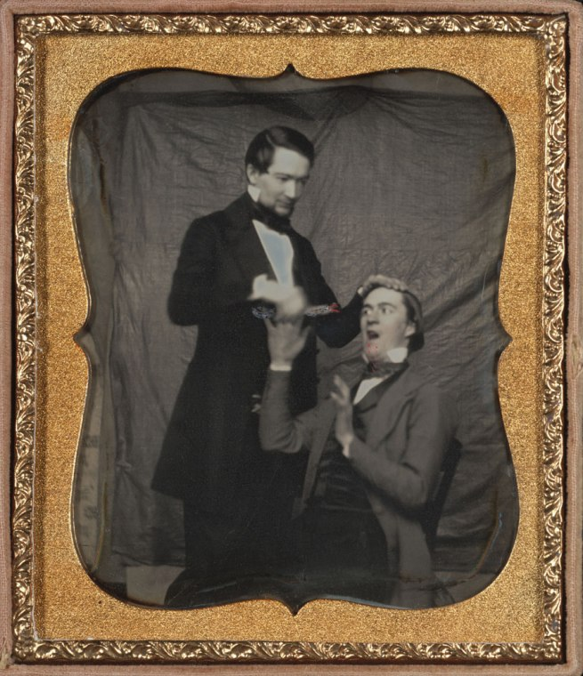 Unknown Maker (American) 'Comic Dentist' c. 1850