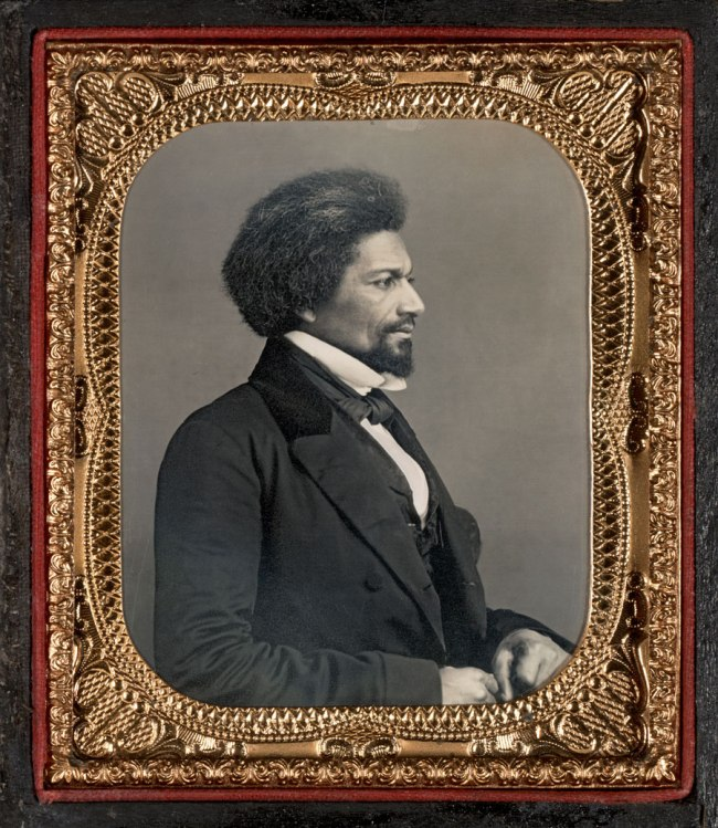 Unknown Maker (American) 'Profile Portrait of Frederick Douglass' c. 1858