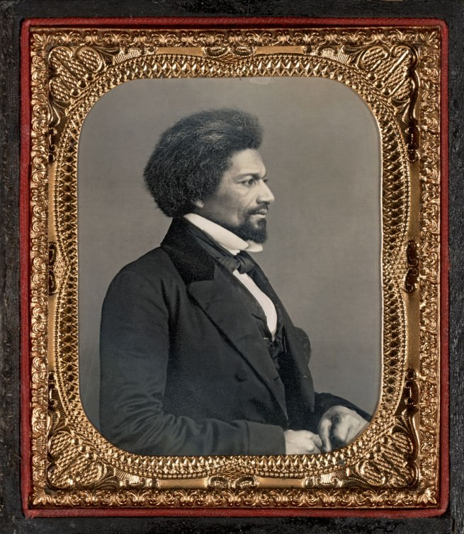 Unknown Maker (American) 'Profile Portrait of Frederick Douglass' c. 1858