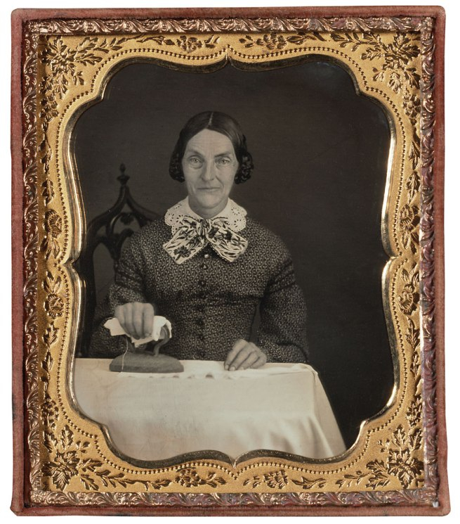 Unknown Maker (American) 'Woman Ironing' c. 1850-55