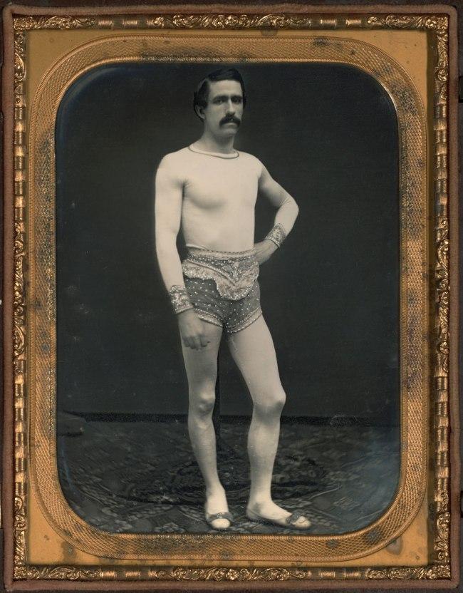 Unknown Maker (American) 'Tightrope Walker' c. 1855