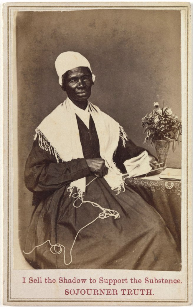 "Unknown. 'Sojourner Truth, ""I Sell the Shadow to Support the Substance""' 1864"