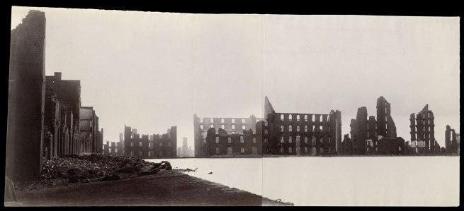 Alexander Gardner (American, born Scotland, 1821-1882) 'Ruins of Gallego Flour Mills, Richmond' 1865
