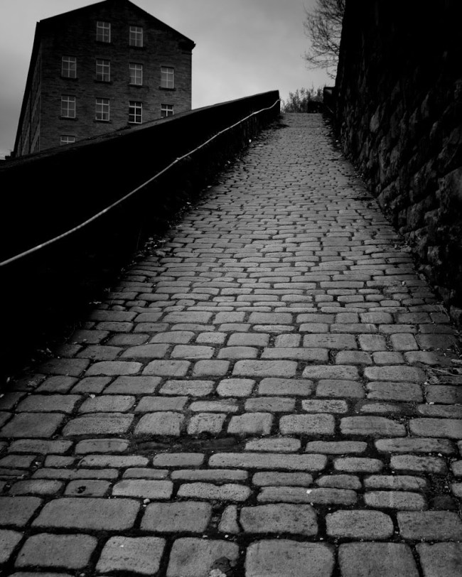 Bill Brandt (British, born Germany. 1904-1983) 'A Snicket in Halifax' 1937