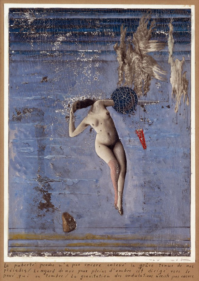 Max Ernst. Approaching Puberty… (The Pleiades) La puberté proche... (les pléiades) 1921