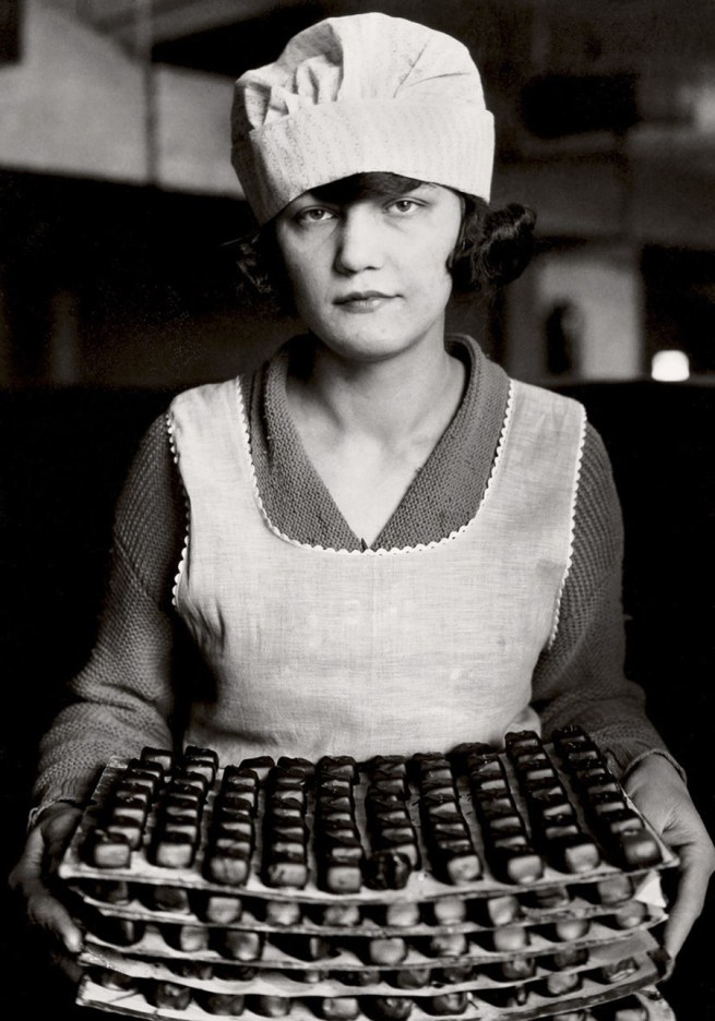 Lewis Hine. 'Candy worker, New York' c. 1925